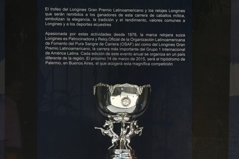 Longines Flat Racing Event: The 2015 Longines Gran Premio Latinoamericano