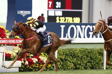 The Longines Hong Kong International Races:  four races, four chances to become a legend