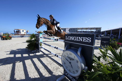 Longines Show Jumping Event: The first edition of the Longines Global Champions Tour of Miami Beach