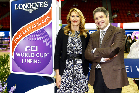 Longines Show Jumping Event: Longines FEI World Cup™ Jumping Final in Las Vegas: a final full of panache