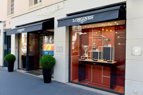 Longines Corporate Event: Longines officially inaugurates its first monobrand boutique in France in presence of Ambassador of Elegance Stefanie Graf