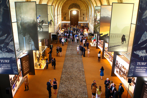 Longines Flat Racing Event: Vernissage de l'exposition photographique Turf aux Grandes Ecuries de Chantilly