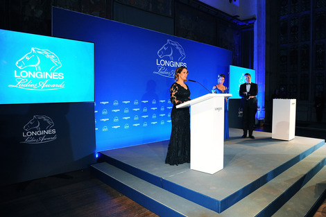 Longines Corporate Event: HRH Princess Haya honoured at the 2015 Longines Ladies Awards ceremony
