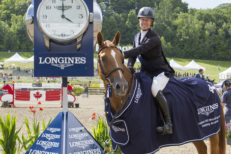 Longines Show Jumping Event: Longines FEI World Cup Jumping North American League at Bromont, Canada