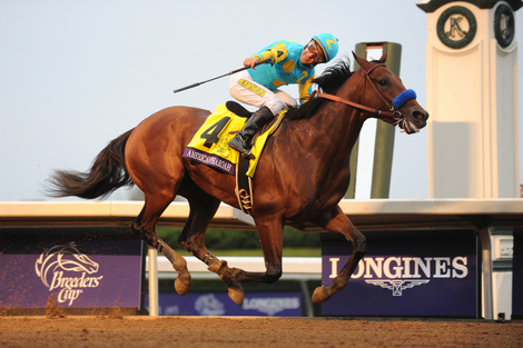Longines Flat Racing Event: Longines times American Pharoah's historic victory in Breeders' Cup Classic