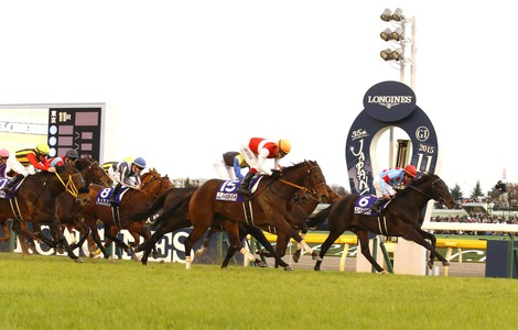 Longines Flat Racing Event: 2015 Japan Cup in association with Longines won by Shonan Pandora