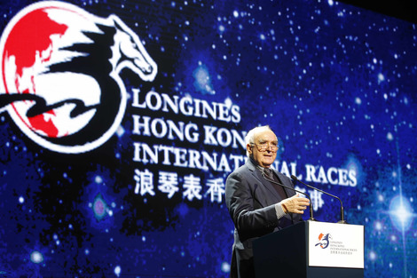 "Longines Flat Racing Event: Lanfranco ""Frankie"" Dettori honoured at the second Longines World's Best Jockey Award ceremony"