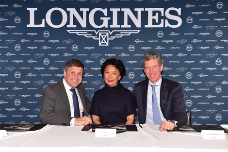Longines Show Jumping Event: Longines World Equestrian Academy to promote equestrian sports in China
