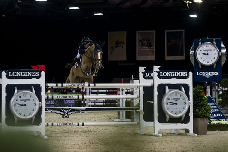 Longines Flat Racing Event: Bertram Allen won the Longines Speed Challenge in a thrilling atmosphere