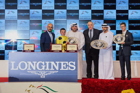 Longines Flat Racing Event: Longines timed the prestigious races of the Dubai World Cup