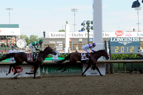 Longines Flat Racing Event: Nyquist Gains Victory at the 142nd Kentucky Derby