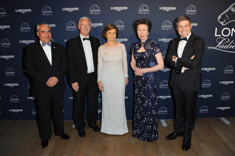 Longines Corporate Event: The Princess Royal honoured with the Longines Ladies Award 2016