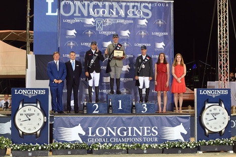Longines Show Jumping Event: The Longines Global Champions Tour of Monaco attracted horse enthusiasts in the glamorous Principality