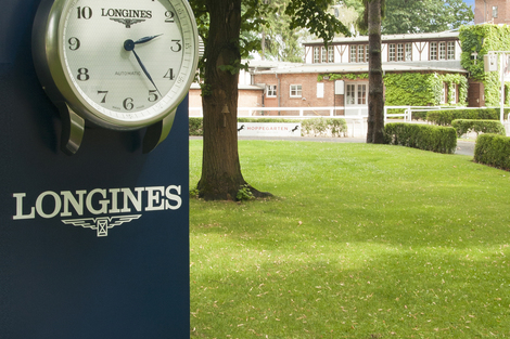 Longines Flat Racing Event: Longines announces its partnership with Berlin-Hoppegarten Racecourse and will lend its name to the Longines Grosser Preis von Berlin