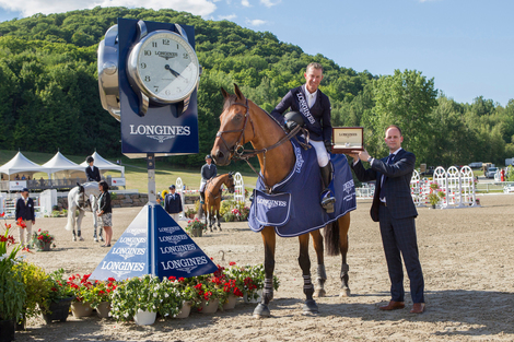 Longines Show Jumping Event: New season of the Longines FEI World CupTM Jumping North American League opens with the victory of Jonathan McCrea in Bromont