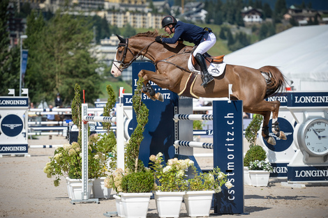 Longines Show Jumping Event: Kent Farrington (USA) wins the Longines Grand Prix of St. Moritz