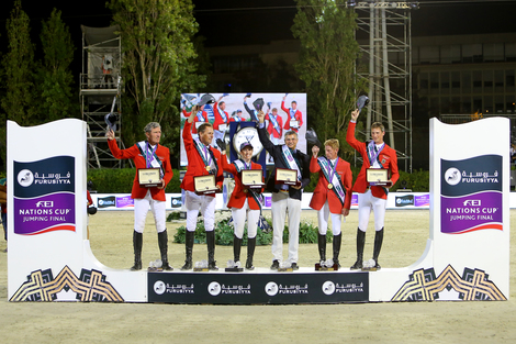 Longines Show Jumping Event: Team Germany captured the final of the 2016 Furusiyya FEI Nations CupTM Jumping at CSIO Barcelona