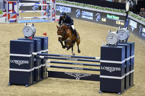 Longines Show Jumping Event: Longines Speed Challenge: Nayel Nassar and Lordan are the fastest