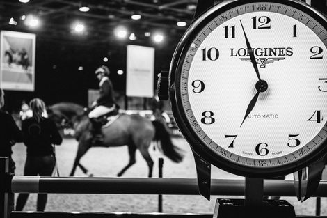 Longines Show Jumping Event: Longines is looking forward to seeing the top international riders competing in the glamorous atmosphere of the Longines Masters of Paris