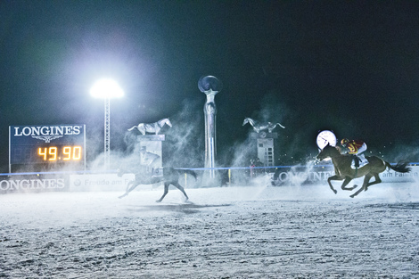 Longines Flat Racing Event: Longines appointed Official Timekeeper and Official Watch of the White Turf St. Moritz