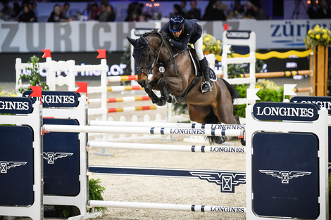Longines Show Jumping Event: Eduardo Alvarez Aznar wins the Swiss leg of the Longines FEI World Cup™ in Zurich