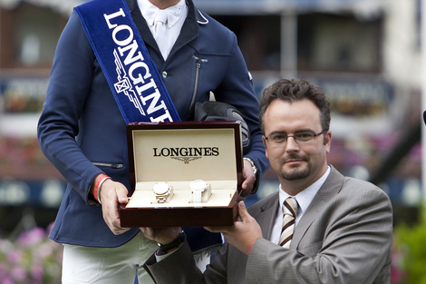 Longines Show Jumping Event: CSIO Dublin - The winners of the Longines Press Award for Elegance