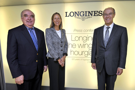 Longines Corporate Event: Longines has celebrated the 120th anniversary of the registration of a logo that is still in use today