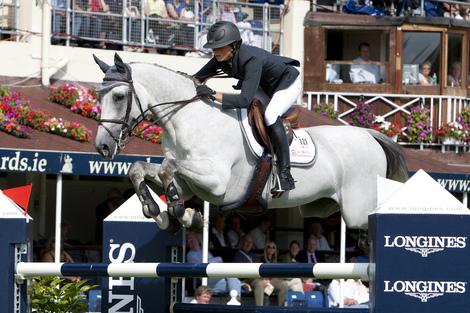 Longines Show Jumping Event: The winners of the 2010 Longines Press Award for Elegance