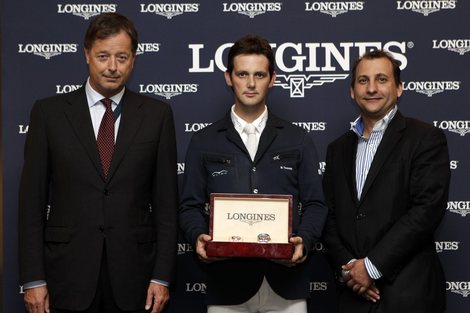 Longines Show Jumping Event: Billy Twomey, wins the Longines Grand Prix of the CSIO Barcelona 2010