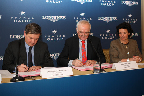 Longines Flat Racing Event: Longines and France Galop – A partnership of tradition and elegance