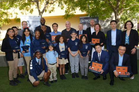 Longines Ambassador of Elegance Andre Agassi opens the doors of his campus in Las Vegas to generous donors
