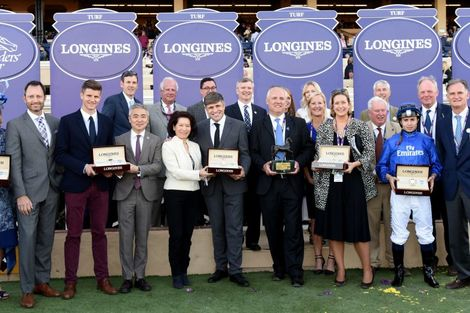 Swiss Watch Brand Longines Times 2017 Breeders' Cup World Championships at Del Mar