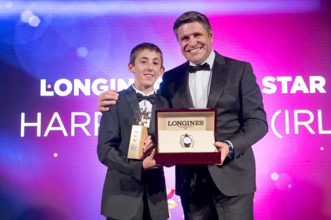 Harry Allen appointed Longines Rising Star 2017