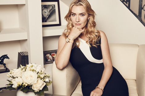 Kate Winslet launches the exclusive Flagship Heritage by Kate Winslet timepiece to be auctioned online