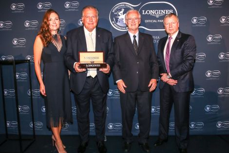 John Messara Receives the 2019 Longines and IFHA International Award of Merit