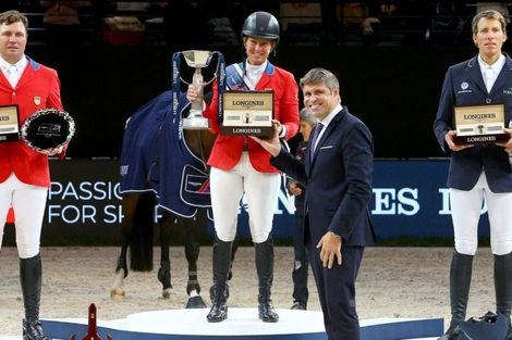 Triumph for Elizabeth Madden and Breitling LS at the 2018 Longines FEI World CupTM Jumping Final