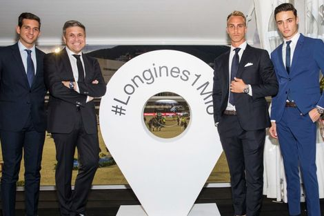 Longines is delighted to have celebrated its 1'000'000 Instagram followers at the Longines FEI Jumping Nations Cup™ Final