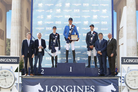 Berlin joined the Longines Global Champions Tour