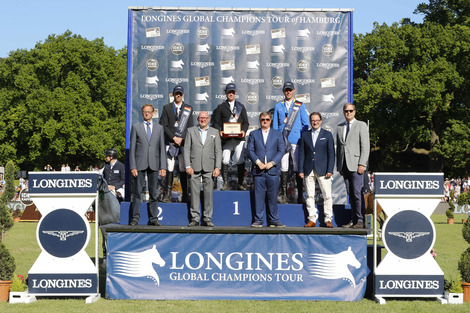 Great victory of Rolf-Göran Bengtsson at the Longines Global Champions Tour of Hamburg