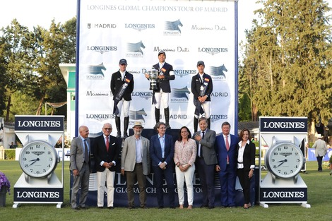 The Spanish leg of the 2017 Longines Global Champions Tour was won by Kent Farrington