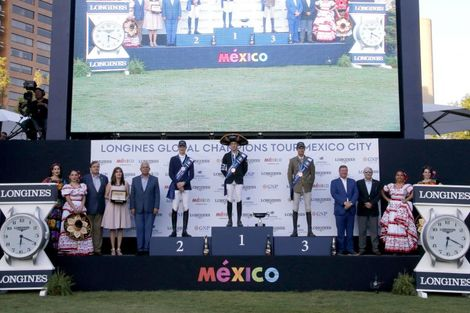 Launch of a brand new season of the Longines Global Champions Tour in Mexico City