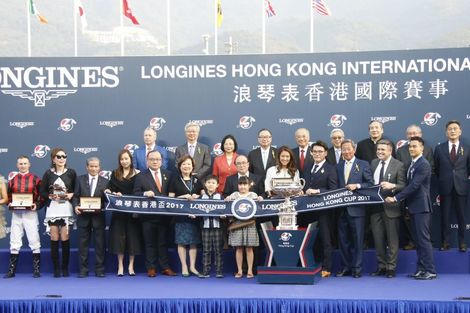 Longines welcomes its Ambassador of Elegance Eddie Peng at the 2017 Longines Hong Kong International Races
