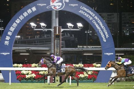 Silvestre de Sousa emerges victorious in the  Longines International Jockeys' Championship in Hong Kong
