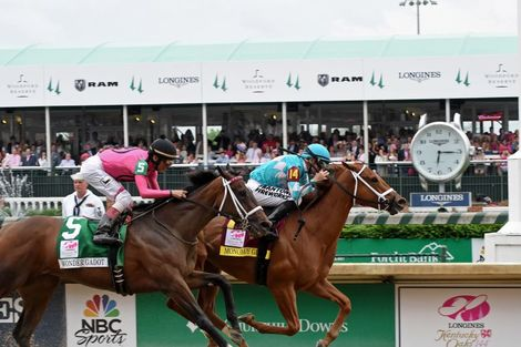 Monomoy Girl's Longines Kentucky Oaks Victory celebrated  at Churchill Downs