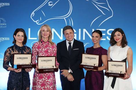 The Longines Ladies Awards Presented to Four Leading Women in the Equestrian World