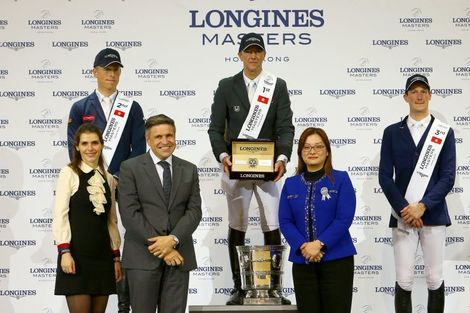 The Longines Masters of Hong Kong: Patrice Delaveau on Aquila HDC takes top class Longines Grand Prix win