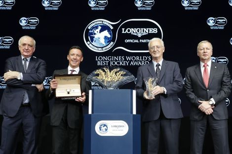 Frankie Dettori Crowned the 2018 Longines World's Best Jockey