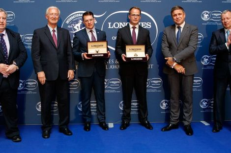 Magnier Family, O'Brien Receive  2018 Longines and IFHA International Award of Merit