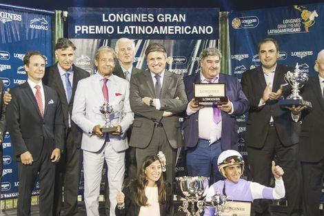 Roman Rosso and Wilson Moreyra claimed victory at the 2018 Longines Gran Premio Latinoamericano