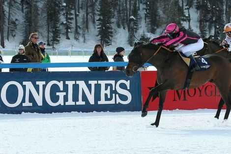 Maxim Pecheur and Nimrod won the Longines 79. Grosser Preis von St. Moritz